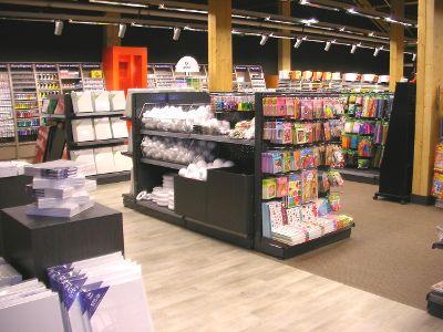 Gondole magasin pour le loisirs cr atifs gondoles modulaire - Magasins loisirs creatifs ...